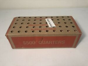 Click now to see the BUY IT NOW Price! 2006 D NEVADA QUARTERS  FULL $500 BOX  50 OBW ROLLS  NEVER OPENED