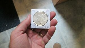 1924 P PEACE SILVER DOLLAR IN BRIGHT  BU CONDITION COMBINED SHIPPING NICE