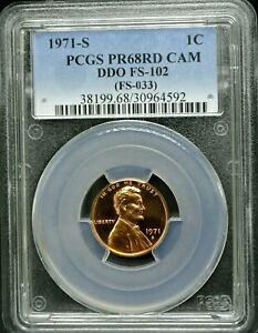Click now to see the BUY IT NOW Price! 1971 S LINCOLN 1C DDO FS 102 PCGS PR 68 RD CAM