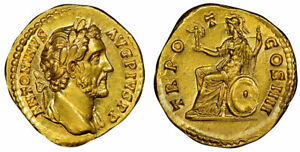 Click now to see the BUY IT NOW Price! ROMAN IMP. ANTONINUS PIUS STRUCK 145 147 AD AV AUREUS. NGC CH. MS 5/5; 5/5 ROME
