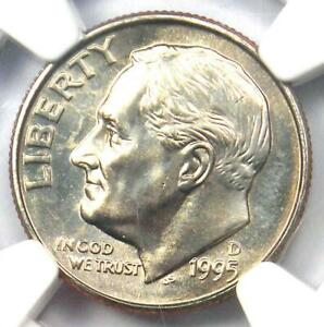 1995 D ROOSEVELT DIME 10C   CERTIFIED NGC MS67 FT    MS67 FB   $650 VALUE