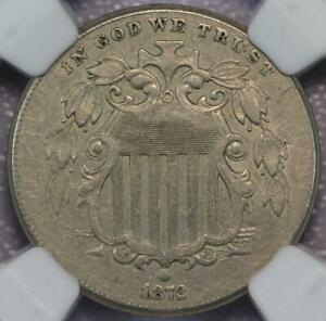 1872 SHIELD NICKEL NGC XF40     DOUBLEJCOINS  2001 00