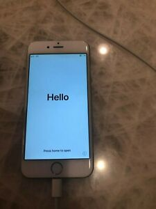 IPHONE 6 UNLOCKED SILVER