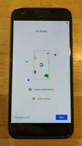 GOOGLE PIXEL   128GB   QUITE BLACK  VERIZON  SMARTPHONE USED