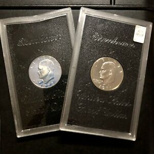 1971 U.S. SILVER EISENHOWER DOLLAR   PROOF  NO BOX   SEALED IN HOLDER