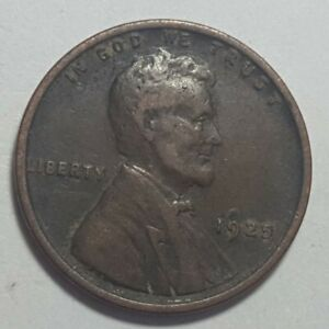1925 P LINCOLN WHEAT PENNY IMPROPER ANNEALED PLANCHET ERROR COIN