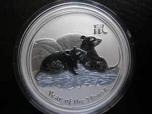 Click now to see the BUY IT NOW Price! 2008 PERTH MINT LUNAR SERIES 2 YEAR OF THE MOUSE 1 OZ SILVER BU COIN