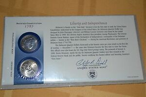 1999 Q10 DELAWARE STATE QUARTER FIRST DAY COVER IN CELLOPHANE WRAPPER