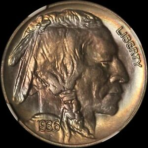Click now to see the BUY IT NOW Price! 1936 5C SATIN PROOF BUFFALO NICKEL CAC AND NGC PF 68     USA