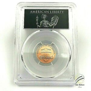 2017 S ENHANCED LINCOLN PENNY PCGS SP70 RD FIRST DAY ISSUE ANA UNC LIBERTY LABEL