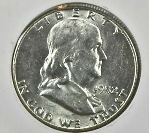 1952 D FRANKLIN HALF DOLLAR 50C   VF