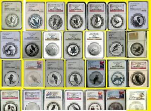 Click now to see the BUY IT NOW Price! 1991 2020 AUSTRALIA 29 OZ SILVER 29 COINS KOOKABURRA SET ALL PERFECT NGC MS 70