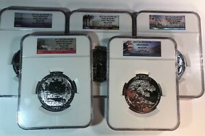 Click now to see the BUY IT NOW Price! 2013 AMERICA THE BEAUTIFUL ATB 5 OZ  QUARTER 5 COIN SET NGC MS69 DPL ER