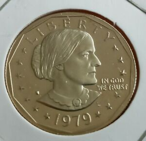 1979 ONE DOLLAR COIN PROOF UNC
