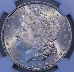 Click now to see the BUY IT NOW Price! 1878 P MORGAN SILVER DOLLAR 7/8 TF VAM 33 NGC MS 63