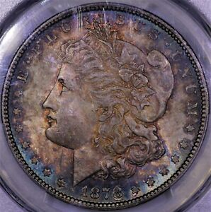 Click now to see the BUY IT NOW Price! 1878 P MORGAN SILVER DOLLAR 7/8 TF STRONG PCGS MS 65 GEM GORGEOUS TONE