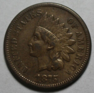 1875 INDIAN HEAD CENT JH167