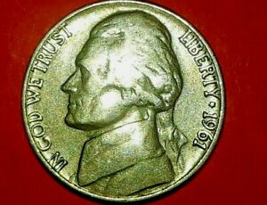 1964 D JEFFERSON NICKEL ERROR DOUBLED OBVERSE AND REVERSE BEAUTY