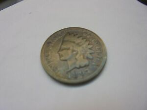 1897 INDIAN HEAD CENT PENNY NON RAINBOW BROWN