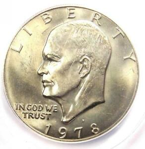 Click now to see the BUY IT NOW Price! 1978 D EISENHOWER IKE DOLLAR $1 COIN   CERTIFIED ANACS MS67    IN MS67