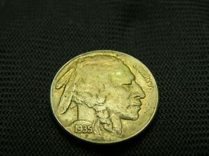 1935 S AU BUFFALO NICKEL PRE WWII US COIN  DATE