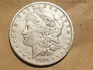 Click now to see the BUY IT NOW Price! 1885 O MORGAN SILVER DOLLAR LIBERTY HEAD $1 COIN AMERICAN EAGLE NICE DETAILS