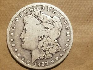 Click now to see the BUY IT NOW Price! 1897 O MORGAN SILVER DOLLAR LIBERTY HEAD $1 COIN AMERICAN EAGLE NICE