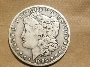 Click now to see the BUY IT NOW Price! 1888 O MORGAN SILVER DOLLAR LIBERTY HEAD $1 COIN AMERICAN EAGLE REVERSE NICE