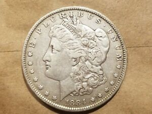 Click now to see the BUY IT NOW Price! 1884 O MORGAN SILVER DOLLAR LIBERTY HEAD $1 COIN AMERICAN EAGLE FINE VF