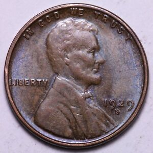 BU 1929 S LINCOLN WHEAT CENT PENNY            R8KCL