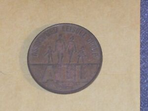 GRAB THIS ONE   ASSOCIATED LEISURE GROUP TOKEN 1062 B.  A 1970'S UK GAMING TOKEN