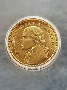 1903 LOUISIANA PURCHASE JEFFERSON GOLD COIN  ICG  MS 61