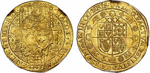 Click now to see the BUY IT NOW Price! ENGLAND. JAMES I  1623 24   LIS  AV ROSE RYAL. NGC MS62 TOWER SCBC 2632; N 2108