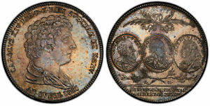Click now to see the BUY IT NOW Price! SWEDEN. CARL XIV JOHAN. 1821 CB AR RIKSDALER. PCGS MS63. KM 610; DAV 350.