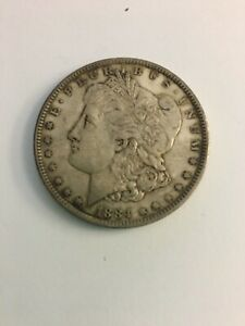 1884 MORGAN SILVER DOLLAR UNGRADED