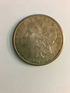 1921 S MORGAN DOLLAR UNGRADED