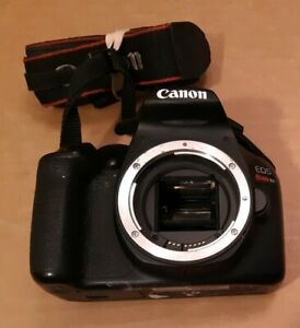FOR PARTS OR REPAIR CANON T6 CAMERA BODY SLR 18MP