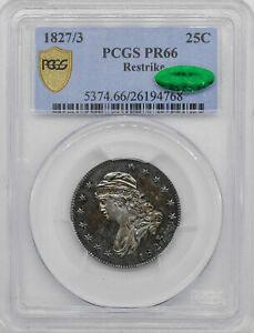 Click now to see the BUY IT NOW Price! 1827/3 CAPPED BUST 25C PCGS PR 66