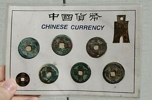 Click now to see the BUY IT NOW Price! LOT ANCIENT CHINESE BRONZE CURRENCY CHING CHU COWRIE COINS ANTIQUE CHINA