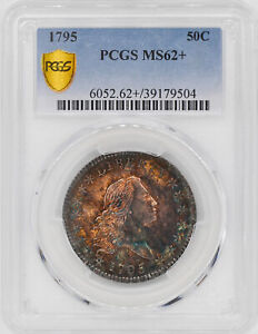 Click now to see the BUY IT NOW Price! 1795 FLOWING HAIR 50C PCGS MS 62