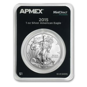Click now to see the BUY IT NOW Price! 300 COUNT   2015 APMEX MINTDIRECT PREMIER 1OZ AMERICAN SILVER EAGLE