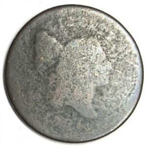 1795 LIBERTY CAP FLOWING HAIR HALF CENT COPPER 1/2C    EARLY COIN