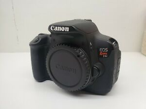 CANON EOS REBEL T4I / EOS 650D 18.0MP DIGITAL SLR CAMERA   BODY ONLY