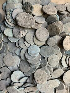 ANCIENT UNCLEANED ROMAN COINS