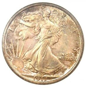 Click now to see the BUY IT NOW Price! 1917 WALKING LIBERTY HALF DOLLAR 50C   NGC MS66    IN MS66   $3 375 VALUE