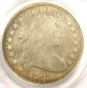 1795 DRAPED BUST SILVER DOLLAR  $1 COIN SMALL EAGLE    ANACS VG8 DETAILS