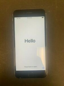 APPLE IPHONE 6S   32GB   SPACE GRAY  UNLOCKED  A1688   PARTS ONLY READ
