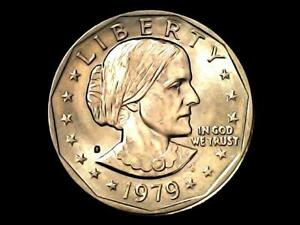1979 D SUSAN B ANTHONY $1 ONE DOLLAR COIN C1 | FILLED