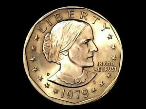 1979 D SUSAN B ANTHONY $1 ONE DOLLAR COIN C3 |PERFECT D MINTMARK NICE COIN  _
