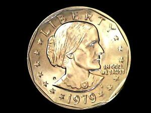 1979 D SUSAN B ANTHONY $1 ONE DOLLAR COIN C6 | ERROR D MINTMARK NICE COIN  _